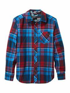 Marmot Anderson Lightweight Flannel Chemise d'extérieur à Manches Longues, Chemise de randonnée, avec Protection Anti-UV, Respirante Homme Clear Blue FR: M (Taille Fabricant: M)