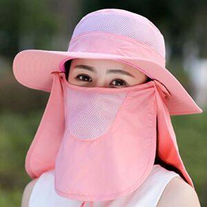 Massage-AED Chapeau de Pêche, Chapeau de Soleil Pliable ete Anti UV Chapeau de Voyage Camping Randonnée Chapeau de Soleil pour Hommes et Dame