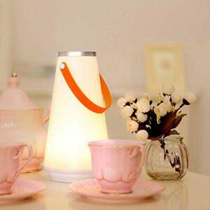VWsiouev Lampe de table portable pour la maison, le jardin, la randonnée, le camping