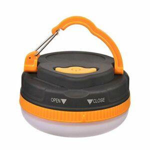 wwwl Lampe de Camping Super Lumineux imperméable à l'eau Portable Camping Lanterne lumière de Nuit 3w 5 Modi LED