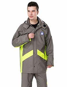 Z-Leah Raincoat Rain Pants Suit, imperméable Split et imperméable, adapté à l'escalade de Coupe-Vent de Voyage