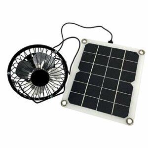 CLISPEED Chargeur de Panneau Solaire de Voiture de Véhicule Alimenté par Panneau Solaire pour Les Activités de Plein Air de Randonnée de Camping