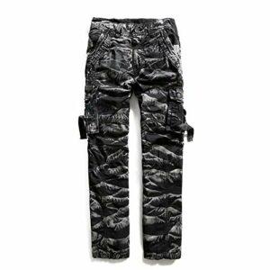 Ddl Salopette Pantalon de Camouflage des Hommes en Plein air Pantalons Hommes Sport Hommes appropriés pour Golf Marche Chasse Randonnée,34