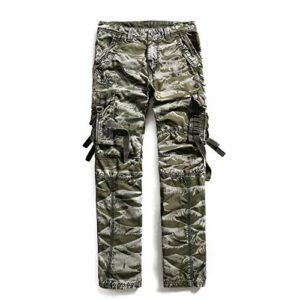 Ddl Salopette Pantalons Pantalons Hommes de Camouflage Sport pour Hommes Hommes appropriés pour Golf Marche Chasse Randonnée,32