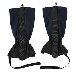 Formulaone 1 Paire de imperméable Coupe-Vent randonnée en Plein air randonnée Escalade Chasse Neige Legging Gaiters Kits de Voyage