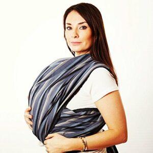 Hip Baby Wrap Porte-bébé écharpe tissée pour les nourrissons et les tout-petits (Montagne Rocheuse)