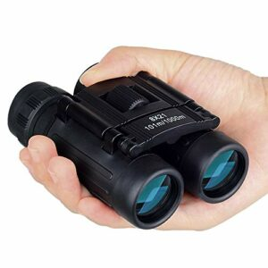 NanYin Télescope 8×21 Zoom Mini Jumelles Pliantes 8 Fois télescope Jumelles Portables Observation d'oiseaux en Plein air Voyages Chasse Trekking