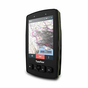 TwoNav – GPS Aventura 2 – Trekking Alpinisme/Joystick/Écran 3,7″ / Autonomie 36 h + Batterie Amovible/Mémoire 16 Go + Fente MicroSD/Carte SIM/Carte topographique + routière incluses