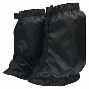 Xpccj Guêtres de jambe pour adulte Neige Extérieure Guêtres Imperméables Couvertures de chaussures Réutilisables pour Randonnée Escalade Cyclisme