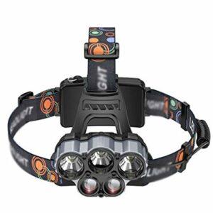 Accessoires lampe frontale Phares lumières de Sport en Plein air lumières de pêche de Nuit Escalade (Color : Black, Size : 5 * 8 * 5cm)