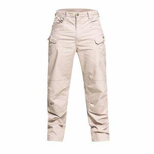 ADOSSAC Homme Militaire Tactique Camouflage Pantalon Outdoor Randonnée Trekking Alpinisme Ski Pantalon Pantalon Cargo avec Plusieurs Poches