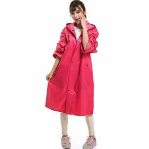 Adulte Raincoat, léger Poncho avec Capuchon et à Manches, réutilisable et Portable Imperméables for Les Hommes/Femmes-extérieur Marche randonnée à vélo (Color : D, Size : S – Number)