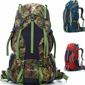 Bazaar Sac à dos escalade sac à dos de 65l Voyage en plein air de camping randonnée d'alpinisme