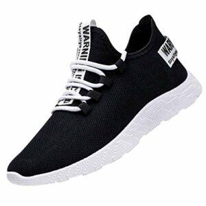 Chaussures de Sport pour Hommes, MerryDate Chaussures de Randonnée Outdoor Légères Antidérapantes Chaussures de Course Mode Sneakers pour Trekking et Les Promenades Sneakers Chaussures de Randonnée