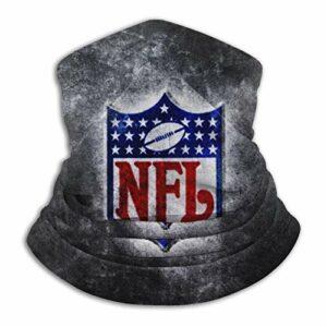 Custom made Cache-cou unisexe avec logo de la NFL en microfibre, multifonctionnel, résistant à la poussière, passe-montagne, bandanas, écharpe pour sports de plein air par temps froid
