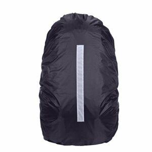Demiawaking 20–45L Sac à dos Housse de pluie étanche à la poussière Housse de sac à dos avec bande réfléchissante pour la sécurité de voyage Camping Randonnée