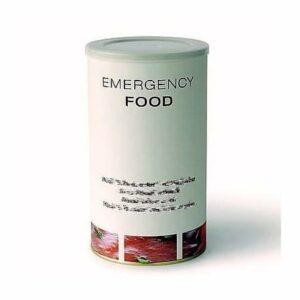 Emergency Food Poudre de lait entier végétarien en poudre pour le camping, le trekking, etc. Renforce et nourrit All Natural Boîte de 1,2 l