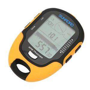 Fournyaa Altimètre électronique GPS, Paramètres de Rappel d'objectif de Hauteur légère Boussole d'altitude GPS, Gain/Perte de Hauteur pour Le Camping en Plein air