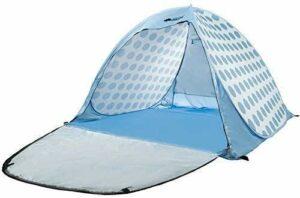 FYSY 3-4 Personnes Sun Shelter Beach Tente instantanée Ombre étanche Canopy Party Piscine Plage Randonnée Voyage Tente Automatique Double Toit Camping éternelle (Couleur: Rose) fangkai77