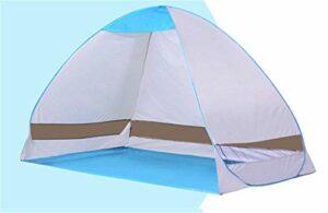 FYSY Plage Tentfully Automatique Rapide d'ouverture de Simples abris Soleil en Plein air Enfants Protection Pêche Double Tente Automatique Camping fangkai77