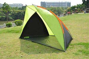 FYSY Plage Tentoutdoor Double pêche imperméable Coupe-Vent Ombre Loisirs Sun Abris Tente Automatique Camping fangkai77