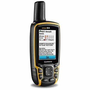 Garmin – GPSMAP 64 – GPS de randonnée – Jaune