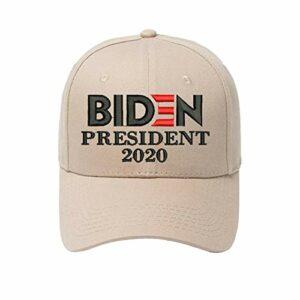 Hbuilder Biden Chapeau, Chapeau de Baseball, Chapeau de l'élection présidentielle Biden 2020, pêche Cyclisme randonnée Chapeau de Baseball Chapeau de Soleil Casquette