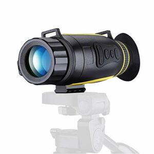 HGCF Night Night Vision Monoculaire, HD Infrarouge Monoculaire LCD Prendre des Photos et des vidéos Lecture Lecture FunctionTF Card Scopes Night Vision Digital pour la Chasse Camping Randonnée