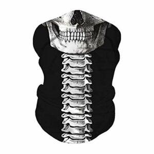 JOJOZZ extérieur Couvre-Chef | Durable Couvre-Chef Polyester écharpe Bandeau Neckband Doublure de Casque Bandeau Multifonctions pour l'exécution de Yoga Moto Escalade -5PCS