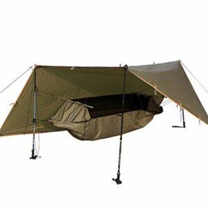 kyman Hamac extérieur Sport Camping Portable hamac Portable Housse de Tente Portable Couverture Multifonction Plate Pliant extérieure Adulte Maison