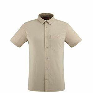 Lafuma – Access Shirt M – Chemise Manches Courtes – Hommes – Randonnée, Trekking, Lifestyle – Beige