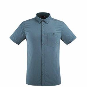 Lafuma – Access Shirt M – Chemise Manches Courtes – Hommes – Randonnée, Trekking, Lifestyle – Bleu