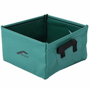 Lavabo pliant repliable Washbowl Eau Lavabo Seau Bol évier Pot à laver Sac pour l'extérieur Voyage Camping Randonnée pique-nique