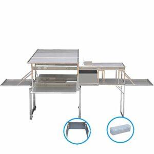 LILI Multifonctionnel en Plein Air Mobile Cuisine Portable Camping Champ Ustensiles De Cuisine Camp Cuisine Kit Fournitures Auto-Conduite Tour Équipement