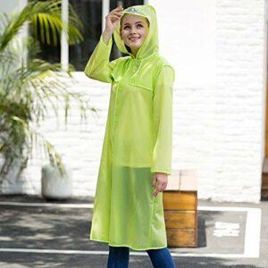 LSLS Poncho de pluie transparent pour homme – Pour randonnée, alpinisme, pêche, adulte – Couleur : C – Taille : M