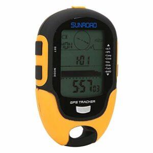 LZKW Boussole d'altitude GPS, paramètres de Rappel d'objectif de Hauteur Altimètre électronique GPS, pour Le Camping en Plein air