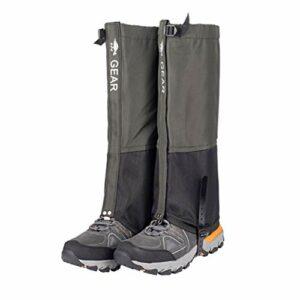 Naiyafly Camping randonnée Escalade imperméable Neige Legging guêtres pour Hommes Femmes Trekking Ski désert Neige Bottes Chaussures Couvre Fournitures de Plein air