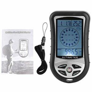 NATRUSS Altimètre Portable, Petit altimètre météorologique, Maison électronique écologique pour la randonnée en Montagne en Plein air