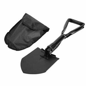 nobrands Pelle-Outil de retranchement de Pelle Pliable Pliable Portable Multi-usages Grande Pelle Pliable pour Camping Loisirs Escalade Week-End Ferme