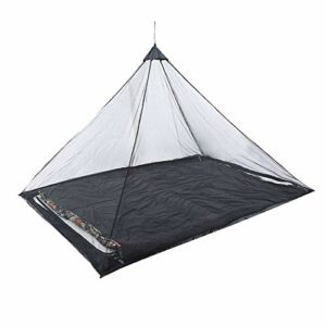 plhzh Outdoor Camping Mosquito,Net Keep Insect Away,for Single Camping Bed Anti Mosquito Net Bed-Black
