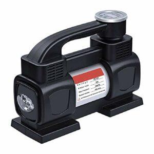 Pompe à air électrique à remplissage rapide, pompe à air portable, pompe à gonflage rapide, pompes de gonflage/déflateur parfaites pour le camping en plein air, coussins gonflables, matelas à air C