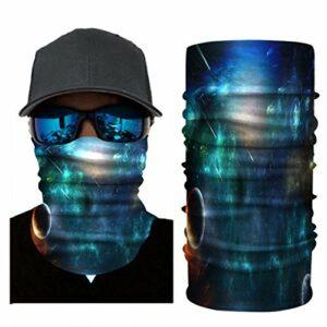 RONGJJ Hiver Bandanas Bandanas – Multifonctionnel Sport Casual Headwear sans Couture Cou Gaiter, Headwrap pour Camping Running Cyclisme Pêche Temps, F