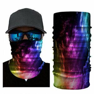 RONGJJ Hiver Bandanas Bandanas – Multifonctionnel Sport Casual Headwear sans Couture Cou Gaiter, Headwrap pour Camping Running Cyclisme Pêche Temps, G