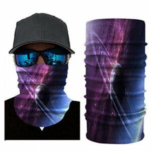 RONGJJ Hiver Bandanas Bandanas – Multifonctionnel Sport Casual Headwear sans Couture Cou Gaiter, Headwrap pour Camping Running Cyclisme Pêche Temps, S