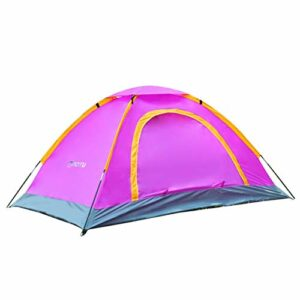 Sanzhileg Portable 1-2 Personne Durable Étanche Camping Tente De Plage Abri De Protection UV pour Randonnée en Plein Air Escalade