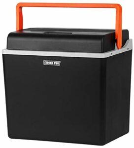 Straend Pro Glacière électrique pour voiture et camping 30 L, 12 V/230 V, fonction rafraîchissante et chaleur, compresseur de réfrigérateur avec mode ECO Idéal pour le camping et le voyage