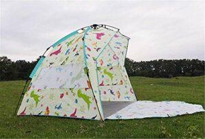 Tente de plage extérieur Ombre portable entièrement automatique Abris ouvert Protection contre le soleil loisirs Tente automatique Camping fangkai77