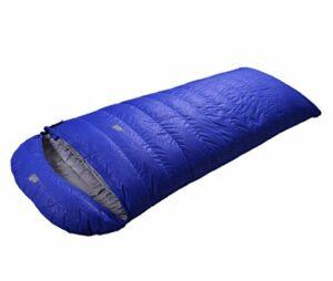 WENMW Camping Sac de Couchage Sac de Couchage Léger Imperméable, Sac de Compression Confortable Convient pour Voyage, Camping, Randonnée, Activités en Plein air (Capacity : 1000g, Couleur : Bleu)