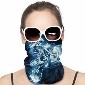 WH-CLA Vélo De Montagne Écharpe Tube Élastique Echarpe Gaiter Ultra-Douce Décoration Faciale Durable Couvre-Chef Antidérapant Cache-Col pour Jogging Extérieur Yoga