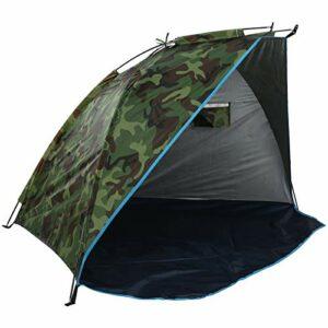 Abri de pêche, tente de camouflage durable, bonne ténacité ventilée imperméable pour l'escalade de pique-nique à la maison en plein air